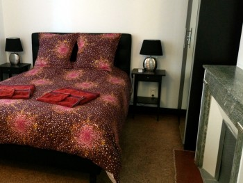Lit double chambre d'hôtes montpellier