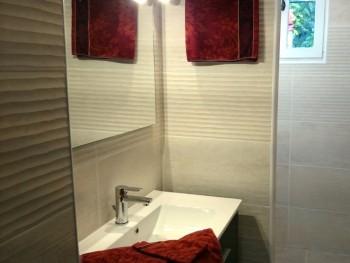 Salle de bain Chambre d'hôtes gare de montpellier